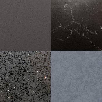 Dark Grey and Black