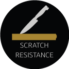scratch resistance feature icon